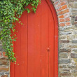 Garden Doorway — Stock Photo