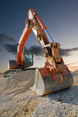 Construction Digger — Stock Photo