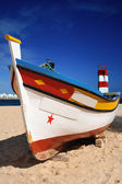 Portuguese Fishing Boat — Stock Photo