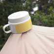 Leaking tent — Stock Photo