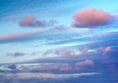 Evening sky — Stock Photo
