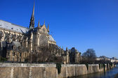 Notre Dame Cathedral Paris France — Stock Photo