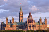 Parilament Buildings in Ottawa, Canada — Stock Photo