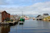 Fishing Village of Peggy's Cove — Foto de Stock