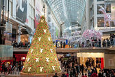 Shopping Mall at Christmas — Stock Photo