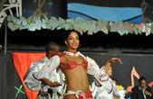 Cuban resort dancer — Stock Photo