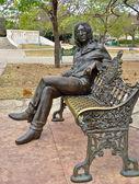 Statue of John Lennon — Stock Photo