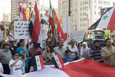 Anti-Bashar rally in Toronto — Stock Photo