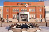 Pier 21 in Halifax, Canada — Stock Photo