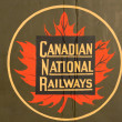 A vintage and iconic Canadian National Railway — Stock Photo #8275627