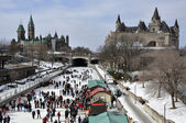 Winterfest in Ottawa, Canada — Stock Photo
