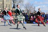 Scottish Highland Dancers — Stock Photo