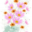 Flowers card design - Stockfoto