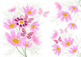 Floral abstract background — Stock Photo