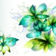 Beautiful vector flowers for your design — Imagen vectorial
