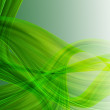Abstract stylish green tapes - Foto Stock