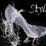 Elegant women's shoe — Stock Photo