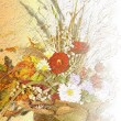 Beautiful autumn bouquet — Stock Photo #8541525
