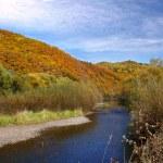 podzim v horách — Stock fotografie