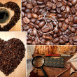 Stok fotoğraf: Coffee collage