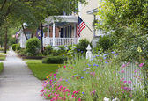 American Neighborhood — Stockfoto