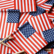 Stock Photo: American Flag Toothpicks