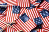 American Flag Toothpicks — Stok fotoğraf