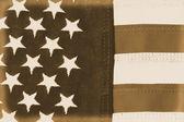American Flag Vintage — Стоковое фото