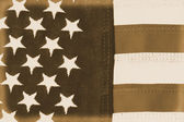 American Flag Vintage — Stock Photo