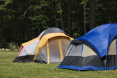 Camping Tents — Stock Photo