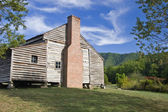 Log Cabin House at Cades Cove in TN — Stock Photo
