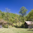 Old Barns in the Mountains — Stock Photo