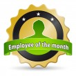 Employee of the month - Stock Photo