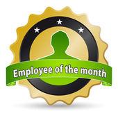 Werknemer van de maand — Stockfoto