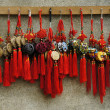Stock Photo: Hanging traditional Chinese mascots