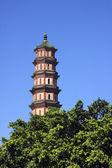 Kinesiska traditionella pagoda — Stockfoto