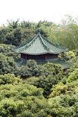 Pavilion among trees — Stock Photo