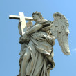 Stock Photo: Angel in Rome 5