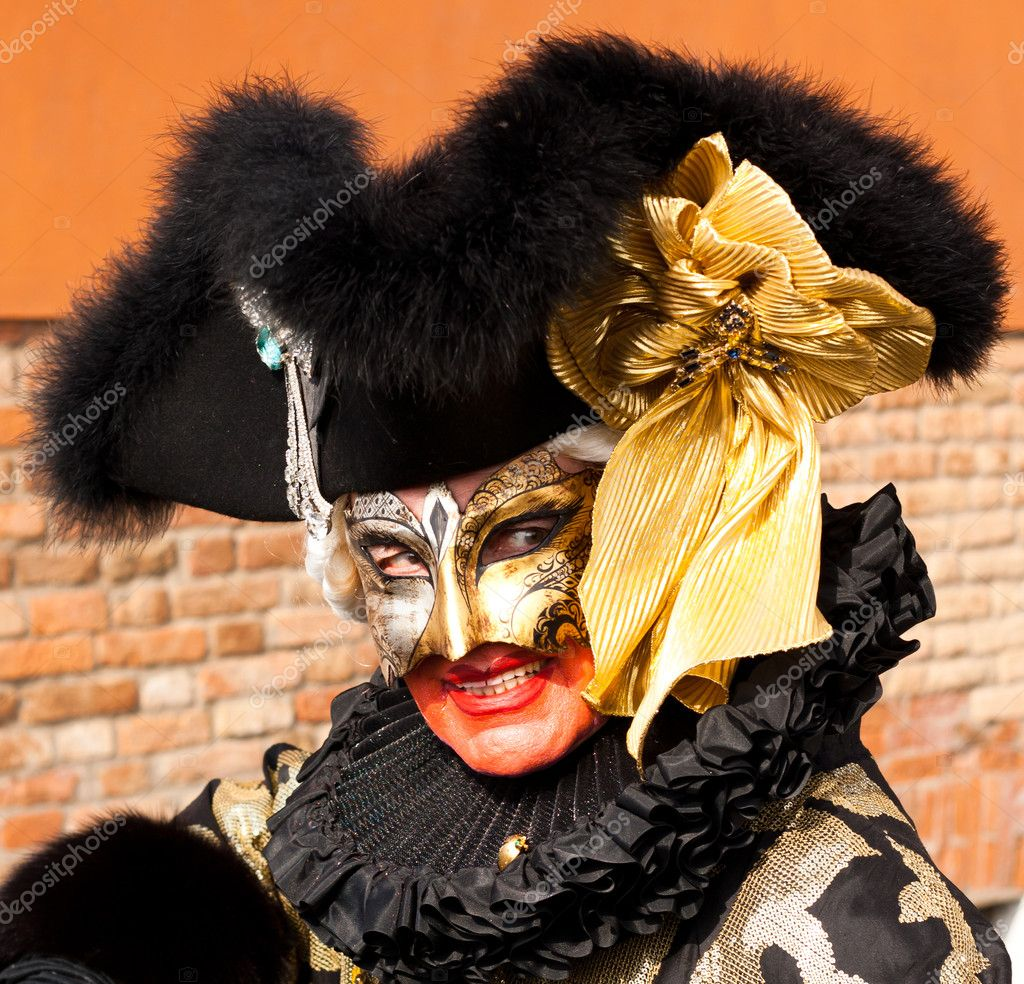 Carnival mask in Venice, Italy. — Stock Photo #9236342