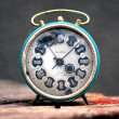 Old retro clock — Stock Photo #7971170