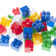 Stock Photo: Plastic constructor bricks