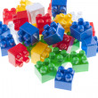 Plastic constructor bricks — Stock Photo #10458879