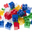 Plastic constructor bricks — Stock Photo #10624081