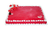 Red cake — Stock Photo