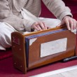 Krishna harmonium — Stock Photo