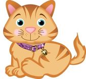 Mascota gato — Vector de stock