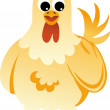 Stock Vector: Chicken