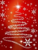 Vánoční pohlednice — Stock vektor