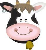 Adorable cow — Stock Vector