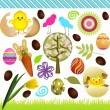 Easter Collage - Stock Vector